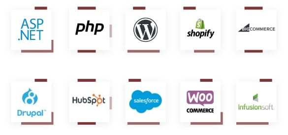 A smattering of web development tools we've worked with