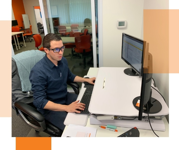 Jorge, our Jr. Paid Search Specialist, expertly manages client accounts to maximize clicks and cost to get you the highest number of qualified leads.