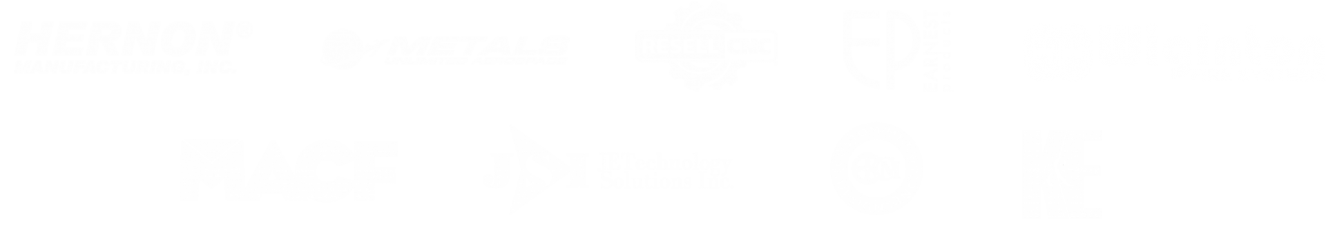 Logos Of ROAR! Manufacturing Clients